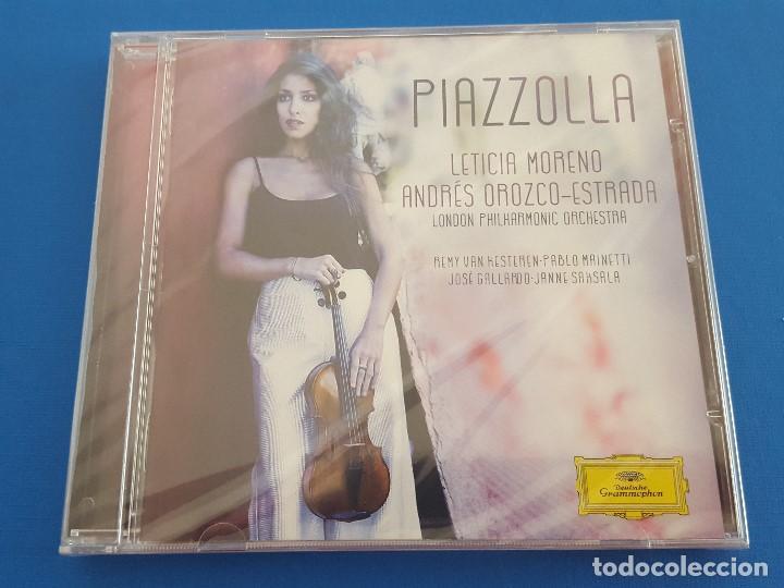 CD / LETICIA MORENO - PIAZZOLLA, NUEVO Y PRECINTADO (Música - CD's Clásica, Ópera, Zarzuela y Marchas)