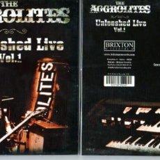CDs de Música: THE AGGROLITES UNLEASHED LIVE VOL.1. Lote 208783553