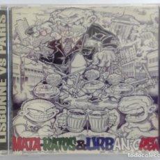 CDs de Música: MATA-RATOS URBAN CREW CD SPLIT LISBONNE VS PARIS PUNK OI ROCK SKA HARDCORE. Lote 208786211