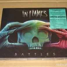 CDs de Música: (SIN ABRIR) IN FLAMES - BATTLES + BONUS TRACKS ____ DIGIPAK EDICIÓN LIMITADA. Lote 208791882