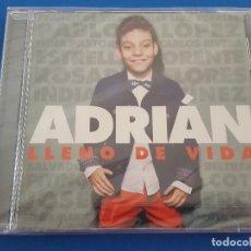 CDs de Música: CD / ADRIÁN - LLENO DE VIDA, NUEVO Y PRECINTADO. Lote 208793568