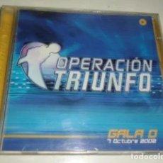 CDs de Música: CD -- OPERACION TRIUNFO GALA 0 - 7 OCTUBRE 2002. Lote 208796600