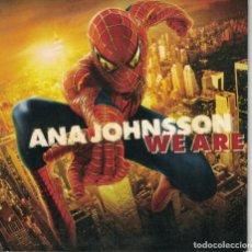 CDs de Música: ANA JOHNSSON - WE ARE (TWO VERSIONS) (CDSINGLE CARTON PROMO, SONY MUSIC 2004). Lote 208868100