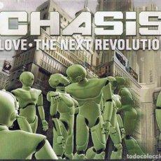 CDs de Música: CHASIS LOVE THE NEXT REVOLUTION ( 3 CD´S). Lote 208879538