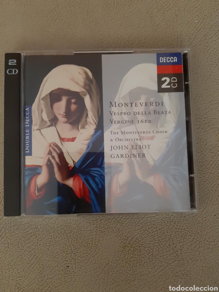 CD MONTEVERDI VESPRO DELLA BEATA VERGINE 1610, THE MONTEVERDI CHOIR & ORCHESTRA JOHN ELLIOT GARDINER (Música - CD's Clásica, Ópera, Zarzuela y Marchas)