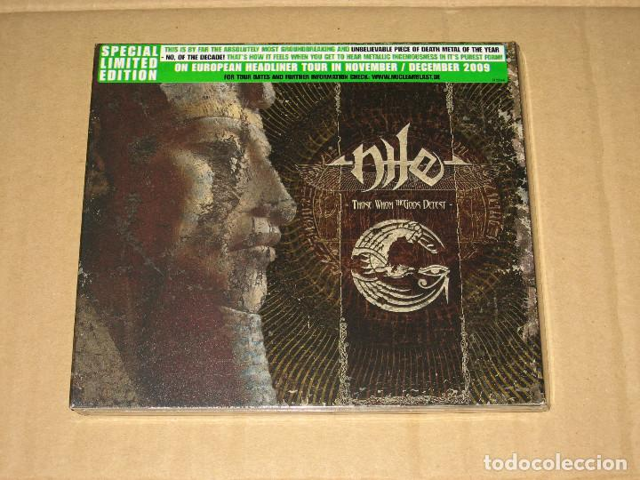 CDs de Música: (SIN ABRIR) Nile - Those Whom the Gods Detest __ (EDICIÓN ESPECIAL LIMITADA) - Foto 1 - 219628625