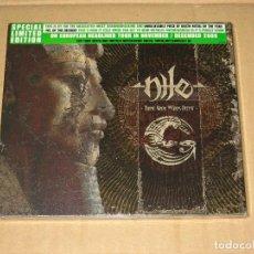 CDs de Música: (SIN ABRIR) NILE - THOSE WHOM THE GODS DETEST __ (EDICIÓN ESPECIAL LIMITADA). Lote 219628625
