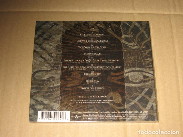 CDs de Música: (SIN ABRIR) Nile - Those Whom the Gods Detest __ (EDICIÓN ESPECIAL LIMITADA) - Foto 2 - 219628625