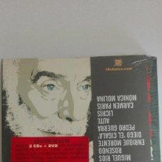 CDs de Música: Y TODO ES VANIDAD HOMENAJE A JAVIER KRAHE ROSENDO ALBERT PLA ALEJANDRO SANZ NUEVO. Lote 208994950
