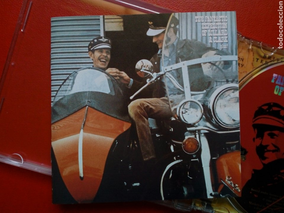 CDs de Música: CD: GENE CLARK - The Fantastic Expedition of Dillard & Clark (Edsel Records, 2000) 1969, ex - Byrds - Foto 2 - 209005311