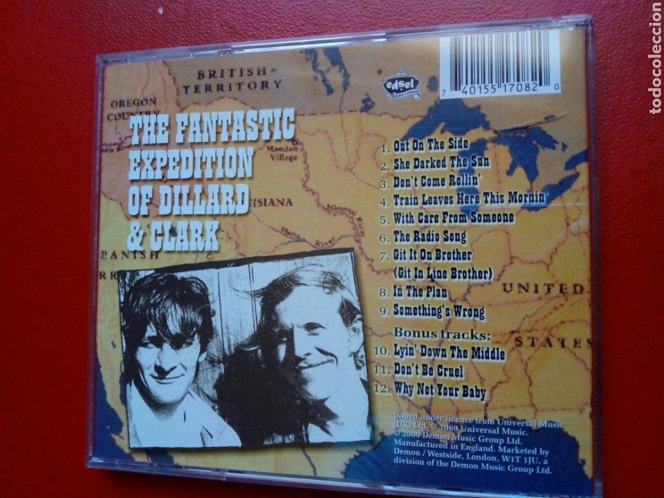 CDs de Música: CD: GENE CLARK - The Fantastic Expedition of Dillard & Clark (Edsel Records, 2000) 1969, ex - Byrds - Foto 4 - 209005311