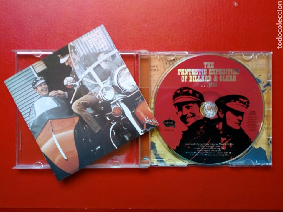 CD: GENE CLARK - THE FANTASTIC EXPEDITION OF DILLARD & CLARK (EDSEL RECORDS, 2000) 1969, EX - BYRDS (Música - CD's Country y Folk)