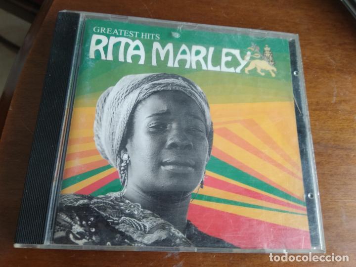 CD - RITA MARLEY - GREATEST HITS - TABATA MUSIC 1993 (CON LIBRETO) (Música - CD's Reggae)