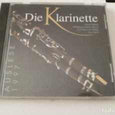CDs de Música: DIE KLARINETTE. AUSLESE 1997. SELECCIÓN CLARINETE. CAPRICCIO. Lote 209053995