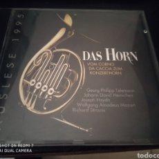 CDs de Música: DAS HORN. AUSLESE 1995. SELECCIÓN TROMPA. CAPRICCIO. Lote 209054146
