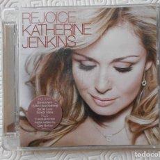 CD de Música: KATHERINE JENKINS. REJOICE. COMPACTO CON 13 TEMAS. UNIVERSAL. UNA JOYA.. Lote 209086972
