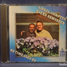 CD di Musica: LIONEL HAMPTON , SVEN ASMUSSEN - AS TIME GOES BY. Lote 209106751