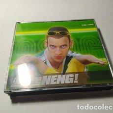 CDs de Música: CD - MUSICA - VARIOUS – QUE PASA NENG! - 2CD + DVD ( TEMAZOS!!). Lote 209140852