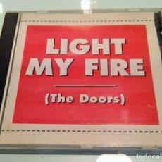 CDs de Música: THE DOORS ----- LIGHT MY FIRE ----- COMPILATION LIVE. Lote 209152606