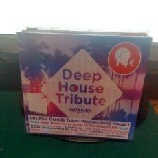 CDs de Música: DEEP HOUSE TRIBUTE. Lote 209165193