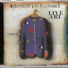 CDs de Música: DOBLE CD BELA FLECK & THE FLECKTONES : LIVE ART. Lote 209166592
