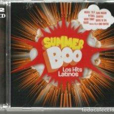CDs de Música: DOBLE CD SUMMER BOO / LOS HITS LATINOS ( SHAKIRA, JUAN MAGAN, DADDY YANKEE, KIKO RIVERA, CROSSFIRE. Lote 209166712