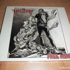 CDs de Música: HELL FIRE CD FREE AGAIN LTD.DIGIPACK,USA 2017 PRIVATE PRESS-IRON MAIDEN-DIO-SAXON *RARO* NUEVO. Lote 209173145