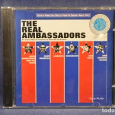 CD di Musica: LOUIS ARMSTRONG AND HIS BAND, DAVE BRUBECK, LAMBERT, HENDRICKS AND ROSS AND CARMEN MCRAE – THE REAL. Lote 209185021