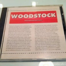 CDs de Música: WOODSTOCK ----- COMPILATION LIVE. Lote 209185623