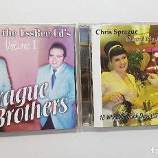 CDs de Música: LOTE 2 CDS CHRIS SPRAGUE (DIESEL MADE FOR TWO) + SPRAGUE BROTHERS - SURF MUSIC MADRID. Lote 209204915