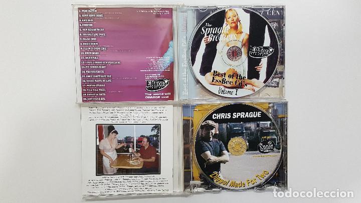 CDs de Música: LOTE 2 CDs CHRIS SPRAGUE (Diesel Made For Two) + SPRAGUE BROTHERS - Surf Music Madrid - Foto 2 - 209204915