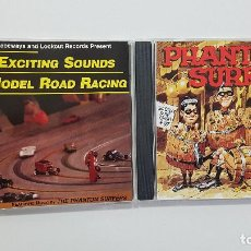 CDs de Música: LOTE 2 CDS THE PHANTOM SURFERS: THE GREAT SURF CRASH OF '97 Y THE EXCITING - SURF MUSIC MADRID. Lote 209207257