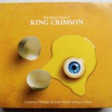 CDs de Música: THE MANY FACES OF KING CRIMSON. 3 CD'S MUSIC BROKERS MBB7231. MÉXICO 2016. RECOPILACIÓN.. Lote 209253680