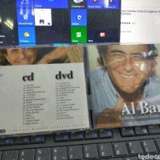 CDs de Musique: AL BANO DOBLE CD + DVD TODOS SUS GRANDES ÉXITOS EN ESPAÑOL 2008. Lote 209255442
