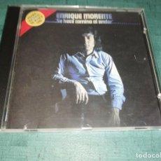CDs de Música: ENRIQUE MORENTE, SE HACE CAMINO AL ANDAR. Lote 209300292