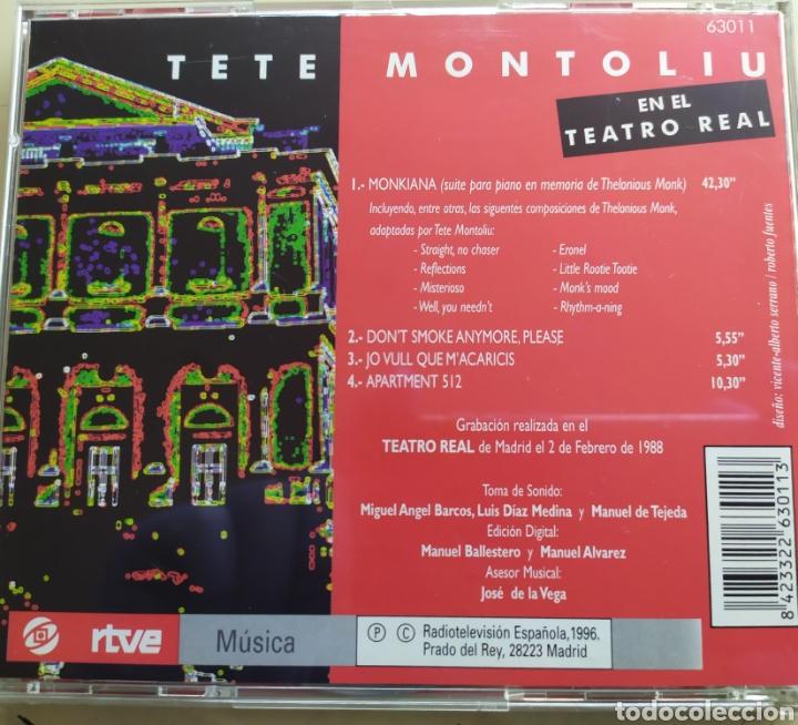 CDs de Música: Tete Montoliu en el Teatro Real / cd original - Foto 2 - 209321112
