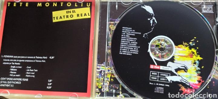 CDs de Música: Tete Montoliu en el Teatro Real / cd original - Foto 3 - 209321112