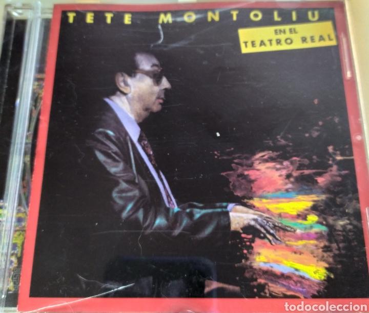 TETE MONTOLIU EN EL TEATRO REAL / CD ORIGINAL (Música - CD's Jazz, Blues, Soul y Gospel)