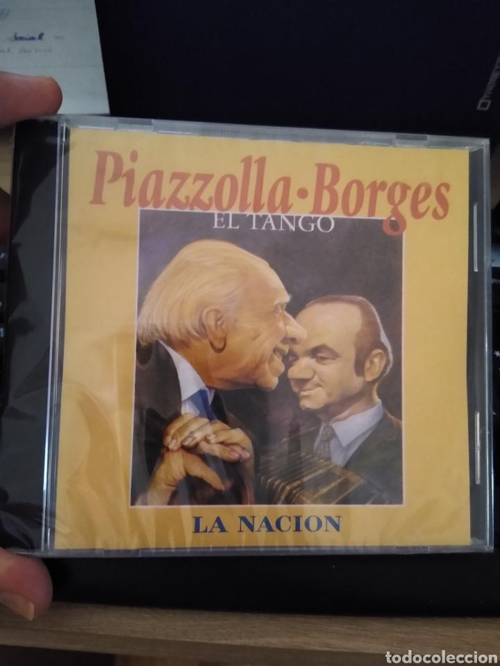 ASTOR PIAZZOLLA -JORGE LUIS BORGES CD IMPORTADO EL TANGO CANTA EDMUNDO RIVERO DESCATALOGADO (Música - CD's World Music)
