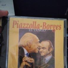 CDs de Música: ASTOR PIAZZOLLA -JORGE LUIS BORGES CD IMPORTADO EL TANGO CANTA EDMUNDO RIVERO DESCATALOGADO. Lote 209343370