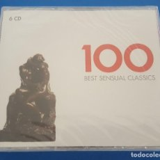 CDs de Música: CD 6X SEIS CD'S / 100 BEST SENSUAL CLASSICS, NUEVO Y PRECINTADO. Lote 209351147