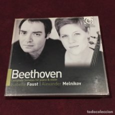 CDs de Música: LUDWIG VAN BEETHOVEN - 3 CD + 1 DVD + LIBRETO. Lote 209599320