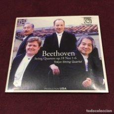 CDs de Música: LUDWIG VAN BEETHOVEN - 2 CD + LIBRETO. Lote 209599870