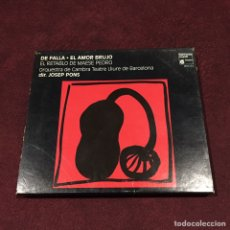 CDs de Música: MANUEL DE FALLA - CD + LIBRETO. Lote 209601421