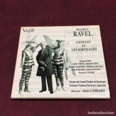 CDs de Música: MAURICE RAVEL - CD + LIBRETO. Lote 209601891