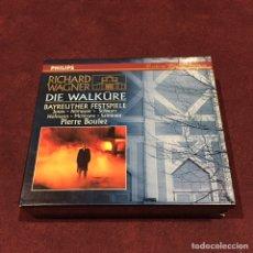 CDs de Música: RICHARD WAGNER - 3 CD + LIBRETO. Lote 209603666