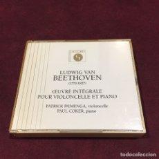 CDs de Música: LUDWIG VAN BEETHOVEN - 2 CD. Lote 209606596