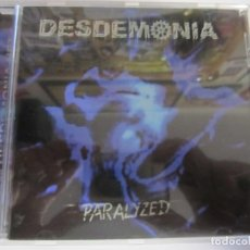 CDs de Música: CD DESDEMONIA PARALYZED. Lote 209607068