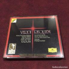 CDs de Música: GIUSEPPE VERDI - 2 CD. Lote 209607288