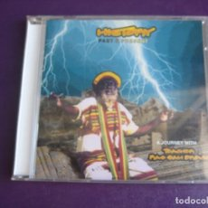 CDs de Música: TEACHER RAS SAM BROWN ‎– HISTORY PAST & PRESENT CD REAL SOUND 1996 - REGGAE - SIN USO. Lote 209608595